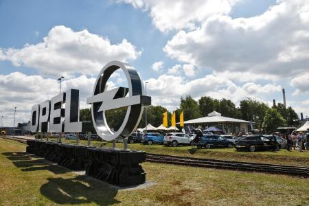Happy birthday: The Opel plant in Kaiserslautern opened its gates to the public to mark its 50th birthday