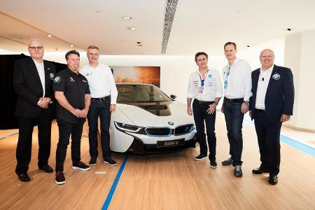 Graeme Davison, Michael Andretti, Jens Marquardt, Alejandro Agag, Jörg Reimann, Kevin Coon, Formel E, Hongkong