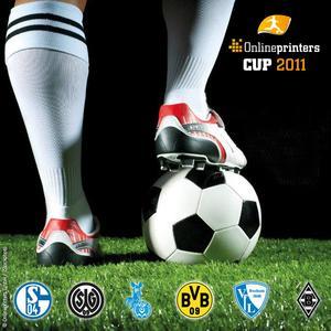 Football stars kicking in Dortmund