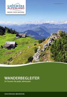 Titelbild Wanderbroschüre 2017 / Copyright© Chiemsee-Alpenland Tourismus