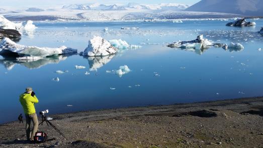 Morgenstimmung Jokulsarlon Gletscherlagune  Island