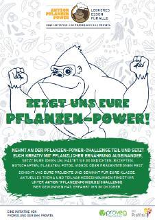 Die Pflanzen-Power-Challenge 2021 von ProVeg und BKK ProVita