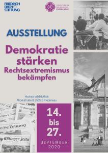 Bibliothek Plakat