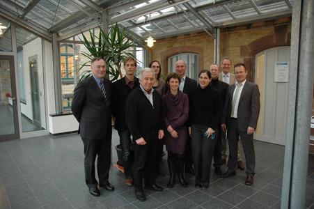 Von der Hochschule Osnabrück durchweg überzeugt und inspiriert, die belgische Delegation aus Leuven