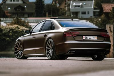Cor.Speed Sports Wheels Europe: Aerotechnik stellt Audi-Luxuslimousine auf Cor.Speed-22-Zöller