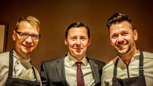 V.l.n.r.: Daniel Hegenbart, Ronny Weber, André Tienelt / Foto: Sandra Lehmann
