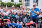 Der Cycling-Marathon zugunsten krebskranker Kinder war ein voller Erfolg