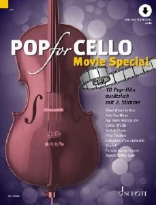 SCHOTT ED23488 Pop for Cello Movie Special