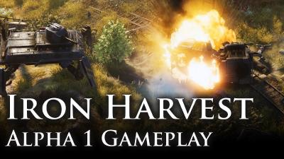 "Iron Harvest: This year's most successful Kickstarter has a ""First Look"" demo"