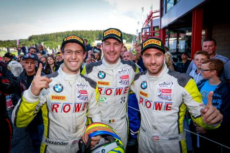 Philipp Eng, Maxime Martin, Alexander Sims, 24h Spa-Francorchamps 2016