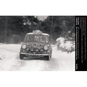 Erneuter Erfolg: Aaltonen und Liddon gewinnen auf Mini Cooper S die Rallye Monte Carlo 1967