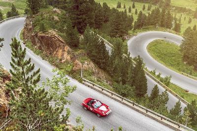 Die Rekordfahrt fand auf der Kaunertaler Gletscherstraße im österreichischen Tirol statt, Bildrechte: Mazda Deutschland