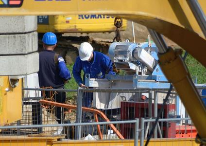 Baufacharbeiter
