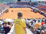 25 Mitarbeiter der ÖWD Event-Security sorgen für die Sicherheit der Tennisstars, wie Tommy Robredro, Mikhail Juschni oder Philipp Kohlschreiber