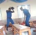 Polizisten schlagen Gottesdienstbesucherin in adventistischer Kirche in Ngozi/Burundi