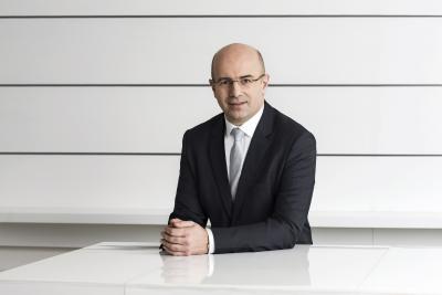 Christophe Gourlan, Vorstand Vertrieb (Copyright: Hansgrohe SE / Andreas Pohlmann)