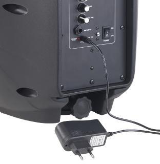 ZX 1681 7 auvisio Mobile PA Partyanlage PMA 900.k mit Bluetooth
