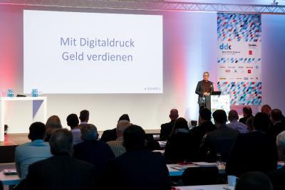 Mit Digitaldruck Geld verdienen. Peter Sommer (Elanders) erklärt, wie das geht.