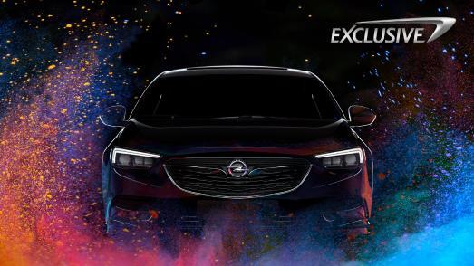 Absolut individuell: Beim neuen Programm Opel Exclusive können Kunden aus unendlich vielen Farboptionen wählen und so ihren neuen Insignia einzigartig gestalten