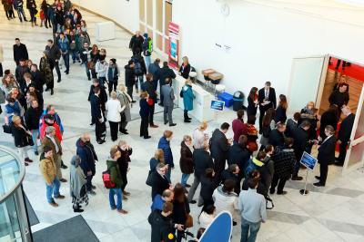Auf die insgesamt 20 Events der jobmesse deutschland tour strömten tausende Besucher, Foto: BARLAG