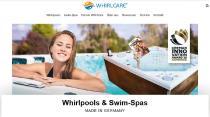 Die neue Whirlcare-Webseite