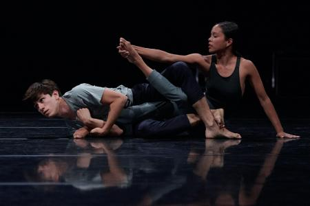 "Szenenmotiv Tanzprojekt ""The Waves"" / Foto: Jose Caldeira"