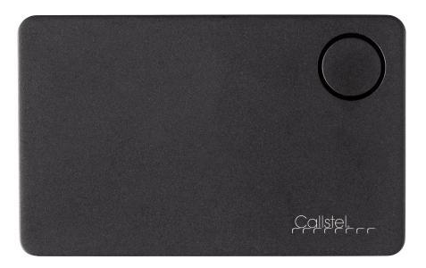 Callstel 4in1-Schlüsselfinder, Kreditkarten-Format, Bluetooth, GPS-Ortung, App