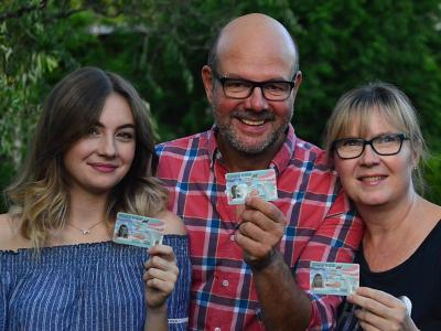 Family V. from Dresden, Germany, was lucky enough to win at in the Green Card Lottery already at their second attempt! Now they are planning to start a new life in the USA. Source: https://www.green-card.com/green-card-winner-testimonials/
