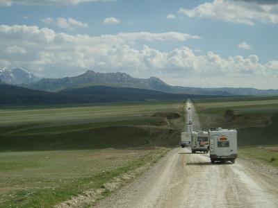 Mir Tours Gruppe in Zentralasien