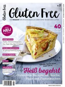 Titel des Magazins Gluten Free