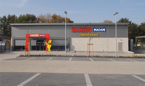 HARIBO eröffnet neuen Fabrikverkauf in Neuss