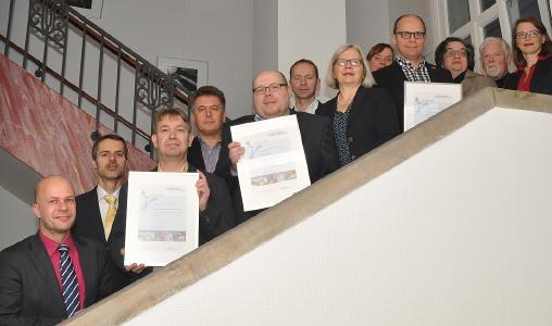 Die neuen Mitglieder des Umwelt-Unternehmensnetzwerks