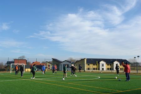 euroville Sportanlage outdoor Kunstrasenfeld