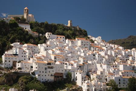 Spanien-Andalusen: Ronda - weißes Dorf