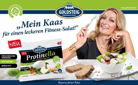 Der leckere Käse für sportliche Genießer mit 23 % Protein und wenig Fett