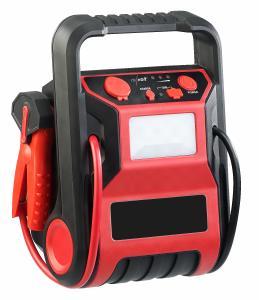 revolt 5in1-Starthilfe-Powerbank & Kompressor, USB, 12V 9.000mAh, 600A 250P