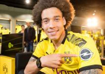 With Opel Logo: New Borussia Dortmund Home-Shirt