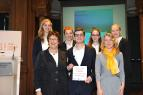 "Gewinnerteam des Young Economic Summit stellt Projekt auf Kongress ""Global Solutions"" in Berlin vor"