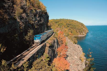 Eisenbahnreise Atlantic Stars