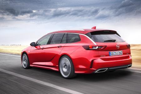 Extra scharf, extra präzise und extra stark: Der neue Sportkombi Opel Insignia GSi Sports Tourer begeistert nicht nur den Fahrer, sondern die gesamte Familie