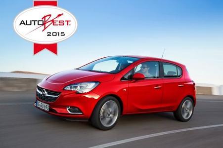 """""""Best Buy Car of Europe for 2015"""": Der neue Opel Corsa wurde von der AUTOBEST-Fachjury bestehend aus Motorjournalisten aus 15 zentral- und osteuropäischen Ländern zum Sieger gekürt"""