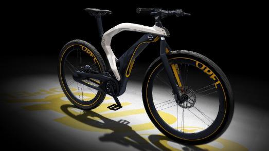 RAD e: 2012 kehrt Opel zu seinen Fahrradwurzeln zurück und präsentiert eine umweltfreundliche Designstudie mit elektrischem Antrieb