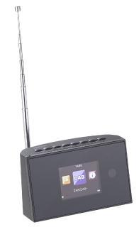 ZX 1687 07 VR Radio Digitaler WLAN HiFi Tuner mit Internetradio