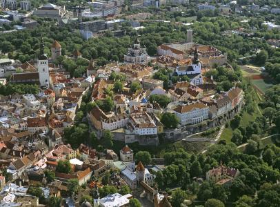 Blick auf die Altstadt von Tallinn © Allan Alajaan