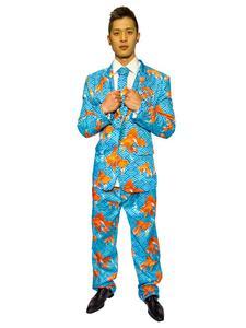 Goldfisch-Anzug