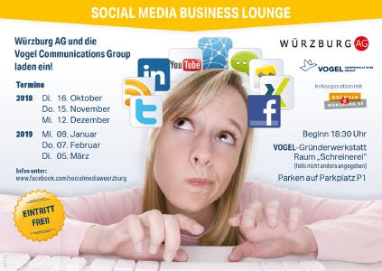 "Aktuelle Termine der ""Social Media Business Lounge"""