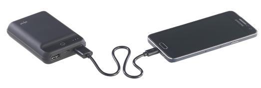 ZX 2819 10 revolt Powerbank im Kreditkartenformat 10.000 mAh 2 USB Ports 2.4 A 12 W