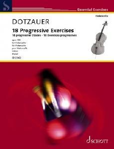 Schott ED23402 18 progressive Etüden
