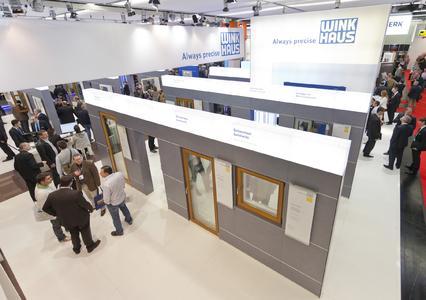 Mit technischen Innovationen und einem neuen Standkonzept überzeugte Winkhaus auf der fensterbau/frontale 2012