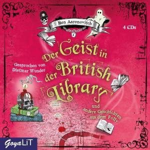 """Cover """"Der Geist in der British Library und weitere Geschichten aus dem Folly"""""""
